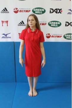 Платье -поло., арт.16001