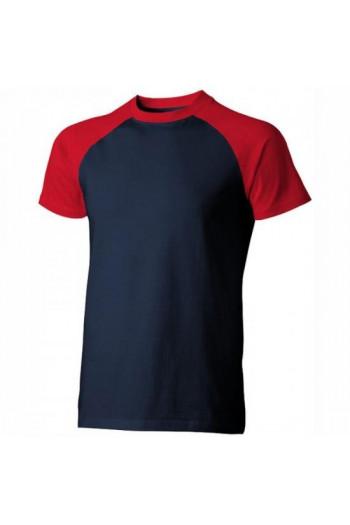 футболка мужская комбинированная , арт.22053