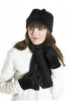 Флисовый шарфик с бахромой, арт.30002