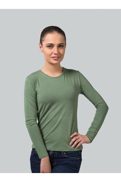 футболка женская длинный рукав арт 14081